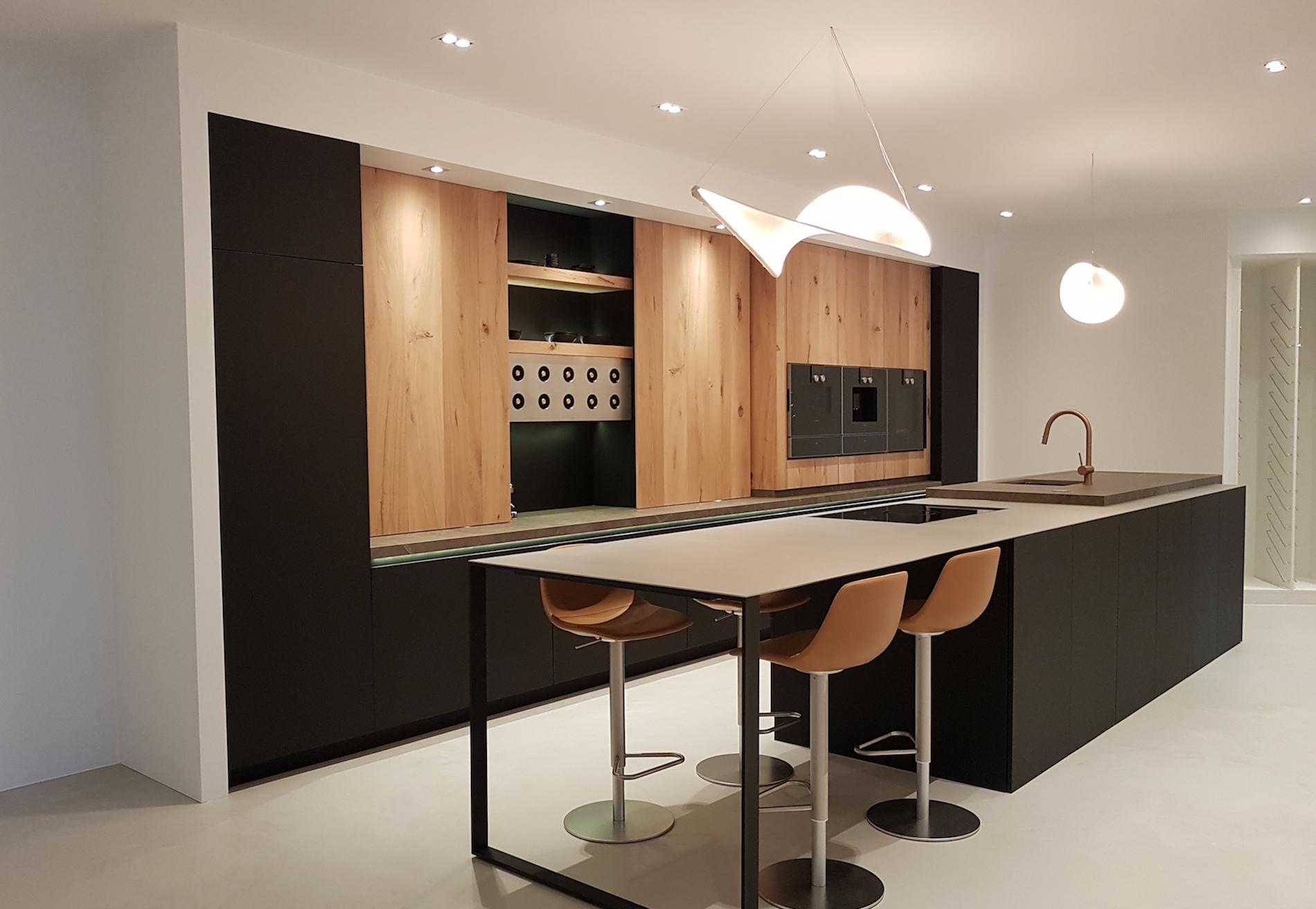moderne keukenrenovatie - D&C Interieurs Mechelen