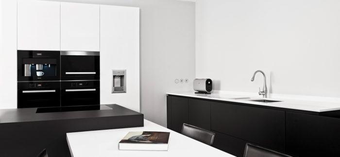 strakke moderne keuken - keukens Mechelen
